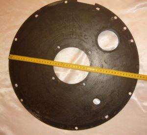 Диск уплотнительный нижний торкрет установки ALIVA 260 1