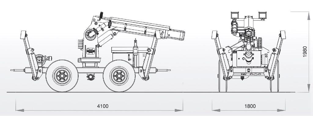 Adroit 412 торкрет-пушка 8